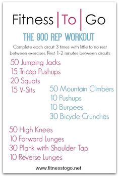 Workout Wednesday - Fitness To Go Fun Workouts, At Home Workouts, Weight Training Workouts, Fitness Exercises, Wods Crossfit, Boot Camp Workout, Boxing Workout, Wednesday Workout, Travel Workout