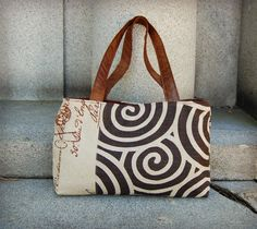 Neutral Handbag  Papyrus by cayennepeppybags on Etsy, $65.00