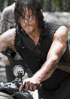 "reedusnorman: "" Daryl Dixon in The Walking Dead 6.06: 'Always Accountable' """