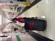 Recycling Club - students go around to drop off location or classrooms to pick up plastic lids/caps