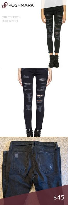 Plus size straight crazy age ripped femme skinny denim women jeans