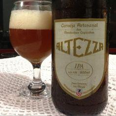 Cerveja Altezza IPA, estilo India Pale Ale (IPA), produzida por Cervejaria Altezza, Brasil. 6.5% ABV de álcool.