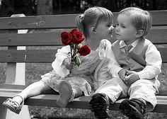 # Quem nunca roubou uma rosa, Um beijo quando ainda menino, Quem nunca se furou num espinho, Roubar um beijo teu é tão difícil; Texto: Marcelo H. Zacarelli -  Do poema: Falso Convício