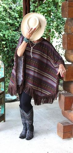 Brands :: Double D Ranch :: Double D Ranch Fall 2014 Camp Blanket Poncho - Native American Jewelry Ladies Western Wear Double D Ranch Ladies...http://www.cowgirlkim.com/cowgirl-brands/double-d-ranch/double-d-ranch-fall-2014-camp-blanket-poncho.html
