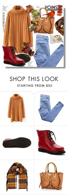 """""""Hijab"""" by sans-moderation ❤ liked on Polyvore featuring 7 For All Mankind, Ilse Jacobsen Hornbaek, River Island, hijab and yoins"""