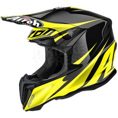 2016 Airoh Twist Helmet Freedom Yellow Gloss
