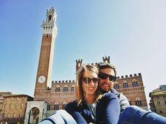 #photooftheday #lovehim #instatraveling #travelling #together #couple #selfietime #travel #instalove #selfie #fun #love #you #hugs #instamoments #smile #happy #amaizingplace #amazingday #siena #tuscany #sun #sunnyday