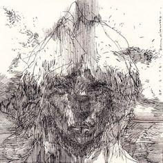 Rene Almaza, Drawing