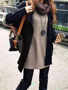 Lovely Winter Dressing Fabulous Winter Attire