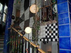 Hunderwasser house Vienna.