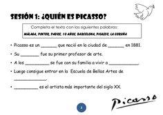 El artistazo de Picasso - Cuaderno del alumno (1º Primaria)