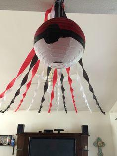 Pokemon lantern, Pokemon decorations party