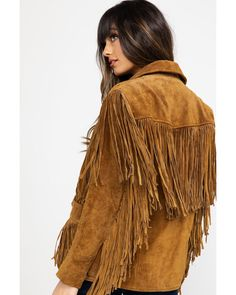 Liberty Wear fringed leather jacket - Style and More - All kinds of trendy ideas Fringe Coats, Fringe Leather Jacket, Leather Jacket Outfits, Suede Jacket, Fringe Fashion, Boho Fashion, London Fashion, Costum, Fringe Dress