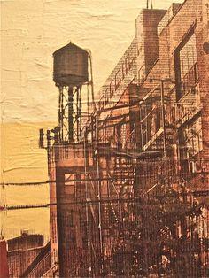 Bushwick water tower, Brooklyn, MARC GOSSELIN | Marc Gosselin