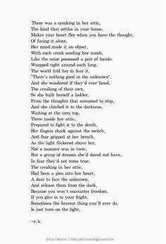 Image result for erin hanson poems