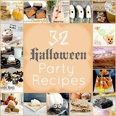32 halloween party recipes