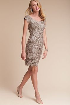 Latte/pumice Marloes Dress | BHLDN