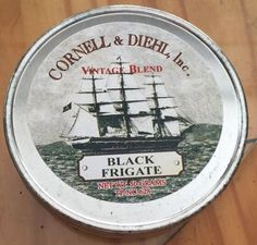 VINTAGE 1970-80s CORNELL AND DIEHL VINTAGE BLENDCOLLECTIBLE TOBACCO TIN