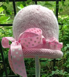 So Sweet Hand Knit Toddler Girl Hat Baby Girl by HollyLaneBabyHats, $38.00