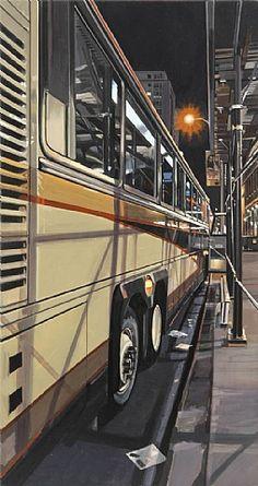 Tour Bus - Richard Estes