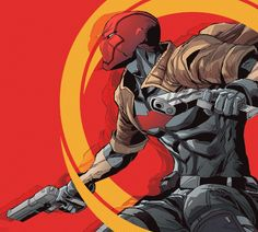 """strategichomelanddivision: """" Red Hood & The Outlaws #002 """""""