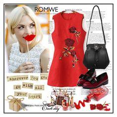 """Romwe 4/XIII"" by merima-p ❤ liked on Polyvore featuring moda, Ermanno Scervino i KAROLINA"