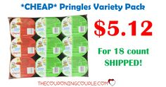 WOW! Stock up for lunches or snacks! Get an 18 count Pringles Singles Variety Pack for only $5.12 shipped! (compare to $6.80 at Walmart!)  Click the link below to get all of the details ► http://www.thecouponingcouple.com/pringles-singles-variety-pack-18-count-4-76-shipped/ #Coupons #Couponing #CouponCommunity  Visit us at http://www.thecouponingcouple.com for more great posts!