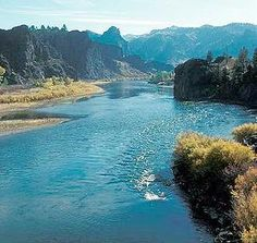 Missouri river in Montana