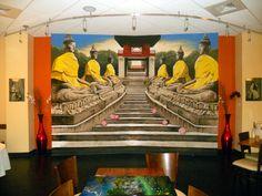 Vietnamese restaurant mural.  Over 13 feet by over 11 feet.