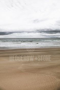 SAND AND SEA  Fine Art Photographic Print via Lisa Perhat | Photography | Hedgerow+Stone. Click on the image to see more!