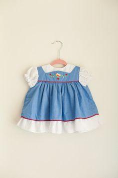Heidi Style Baby Dress