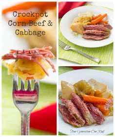 How to make corn beef and cabbage in a crockpot.