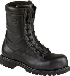 Thorogood 504-6379 Women's Hellfire 8-inch Power EMS/Wildland Composite Toe Boot Black 7.5 M US