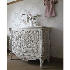 Baroque Carved Cabinet  |  Drawers