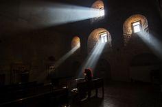 ışık by Oya Adıyaman - Photo 97222485 - 500px. Mardin, Mor Gabriel Manastırı  #turkey #mimari #ışık #türkiye #mardin