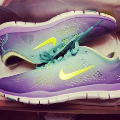 Nike shoes mint & purple ♥