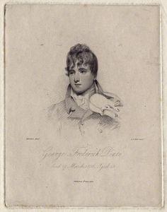 George Pinto [born George Sanders] (1787-1806), engraving (1806), by Albin Burt (1783-1842).
