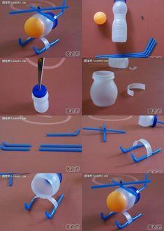 Extraordinario la creatividad de este juguete ♥