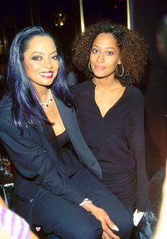 Diana Ross & daughter Tracee Ellis-Ross