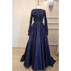 Hijab Evening Dress, Evening Dresses With Sleeves, Maxi Gowns, Ball Gown Dresses, Muslim Wedding Dresses, Formal Dresses, Dusty Blue Bridesmaid Dresses, Beautiful Prom Dresses, Homecoming Dresses