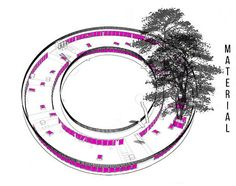 Fufi Kindergarden (2011) Tezuka Architect and OHNO Analysis of material diagram.