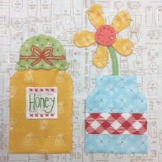 It's week three already. If you are just joining us. you can view all past Bee Happy block tu. Quilt Block Patterns, Applique Patterns, Applique Quilts, Quilt Blocks, Baby Girl Quilts, Girls Quilts, Small Quilts, Mini Quilts, Quilting Projects