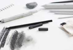 Learn how to create velvety lines and ghost-like shading with charcoal and blending tools. Lisa Solomon demonstrates the qualities of compressed black and white charcoal and charcoal pencils using blending stumps, a kneaded eraser and a chamois. At the end, you'll learn how to use them all...