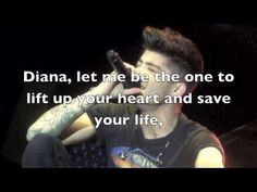 One Direction - Diana NEW LEAKED SONG MIDNIGHT MEMORIES (Lyrics + Pictures)