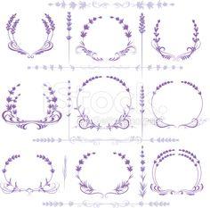 botanical illustration lavender - Google Search