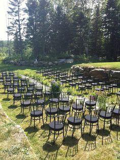 Backyard set up at Cheshire Lodge Montreal, Madness, Vineyard, Backyard, Wedding Ideas, Outdoor, Outdoors, Patio, Backyards