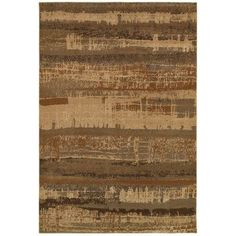 The Conestoga Trading Co. Brown Area Rug Rug Size: