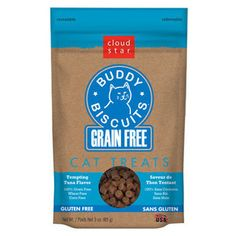 CLOUD STAR SOFT & CHEWY GRAIN FREE TEMPTING TUNA CAT TREATS 3OZ - BD Luxe Dogs & Supplies