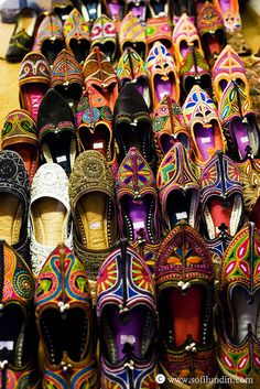 Haveli #india #footwear #colours #gorgeous