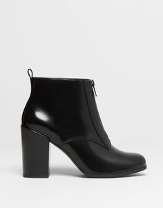 :SHINY HIGH HEEL ANKLE BOOTS
